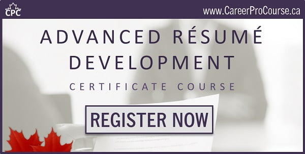 Advanced Résumé Development Course