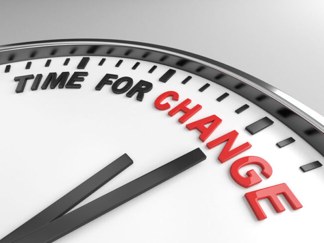 Time for change to eliminate bias