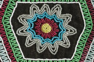 Truth and reconciliation, hand-crafted bead work